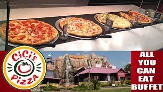 Dicas de Viagem EUA: Cici's Pizza ORLANDO