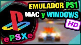 Emulador PlayStation (ePSXe) para Mac osx y Windows HD
