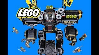 LEGO SPEED BUILD of NINJAGO MOVIE Quake Mech 70632