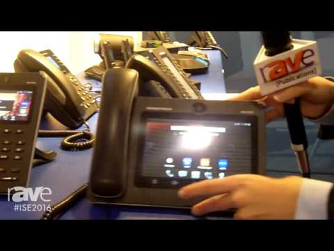 ISE 2016: Grandstream Networks Details GXV3275 Android-Based Video Phone