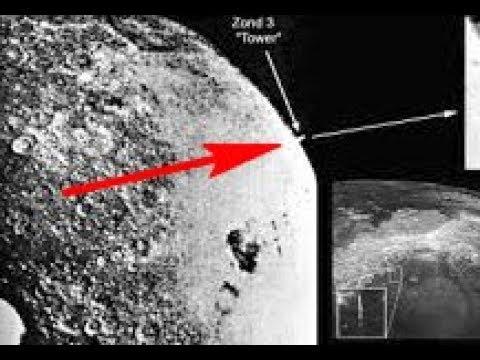 На Луне обнаружен странный объект высотой в 30 км. Утечка информации из НАСА. Кто обитает на Луне.
