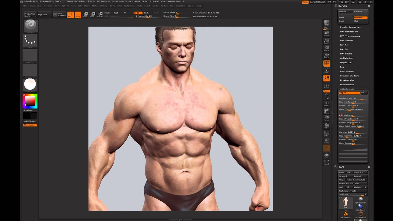 Rendering Images in Zbrush Zbrush Render