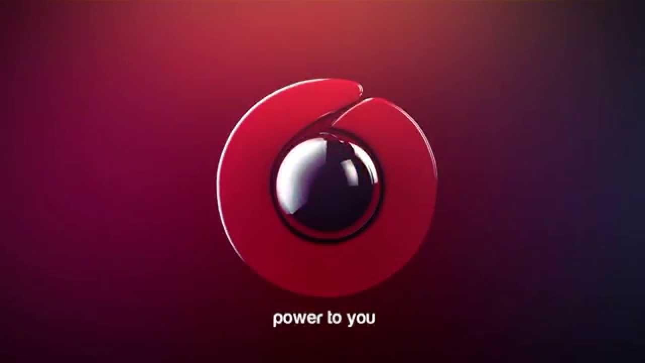 Vodafone Logo Vodafone Logo Animation by