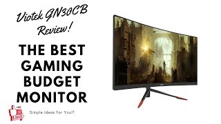 The Best Budget Gaming Monitor | Viotek GN30CB Review | Viotek Monitor