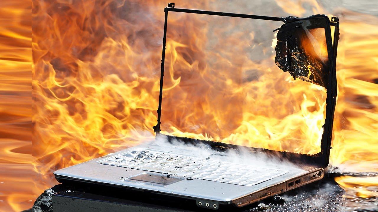 Ноутбук сильно нагревается почему