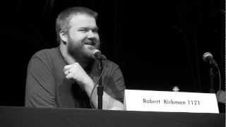 WALKING DEAD creator Robert Kirkman Gives Advice for Aspiring Writers