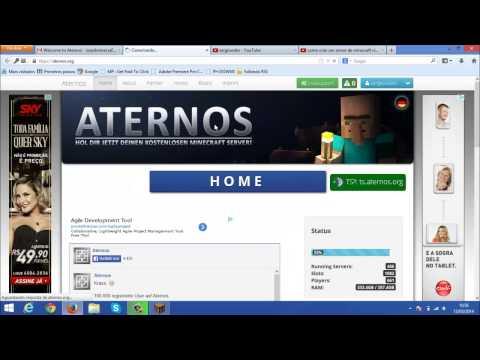 Como criar um server de minecraft com plugin com um Host GRATIS 2014!!! (Funcionando!)