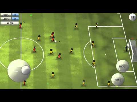 Stickman Soccer 2014 - Russia 1 / Australia 0