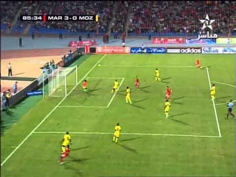 Maroc Mozambique 3-0: But Youssef EL Arabi (المغرب الموزمبيق - هدف العربي)
