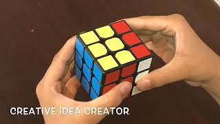 Rubik's cube |3x3| Basis and finger tricks | Creative Idea Creator