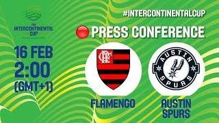 LIVE 🔴 - Flamengo v Austin Spurs - Press Conference - FIBA Intercontinental Cup 2018-19