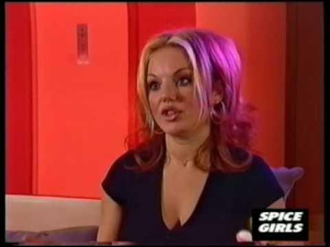 Geri Halliwell - Ginger Spice interview - part 1