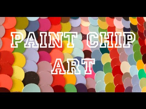 Art For The Non-Artist: Paint Chip Art - Make It Monday Ep 5