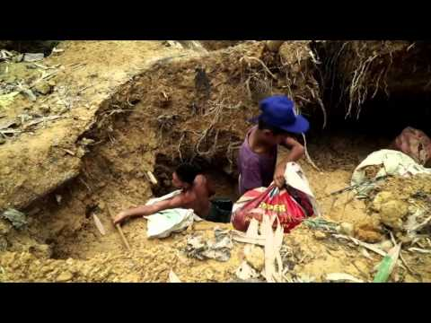 gold mining in the Philippines