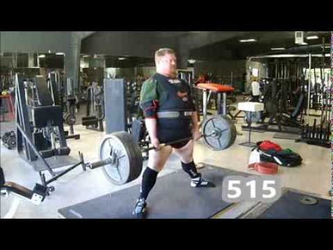 Henry Thomason Powerlifting Deadlift Training 11/29/13 - 1w out Russia Image 1