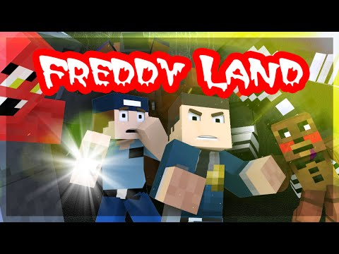 """Minecraft Five Nights at Freddy's 3 """"ADVENTURE MAP"""" Freddy Land Ep.8"""
