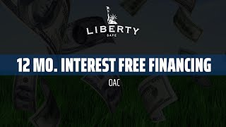 Liberty Safe Interest Free Financing