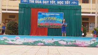 P4: phát biểu Hiệu trưởng: ENGLISH SPEAKING CLUB