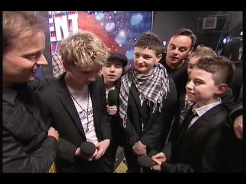 Britains Got Talent 2010 Auditions: Connected ( Teenage Boy Band)