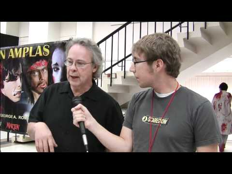 John Amplas Interview ZomBcon 2010 - MacGuffin Film Podcast