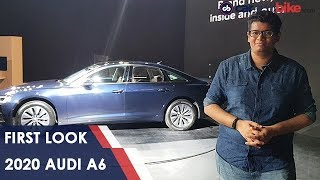 2020 Audi A6 India First Look