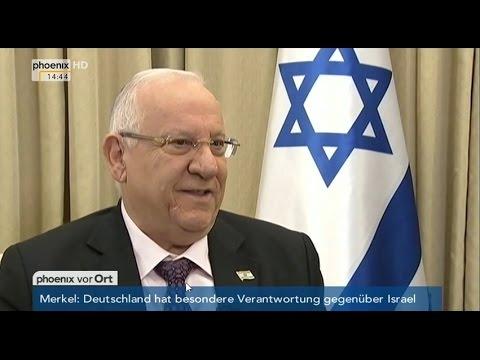 Deutsch-isrealische Beziehungen: Gespräch mit Reuven Rivlin am 12.05.2015