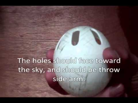 How To - Wiffle Ball Pitches: Slider, Sinker/Drop, Riser, Screwball