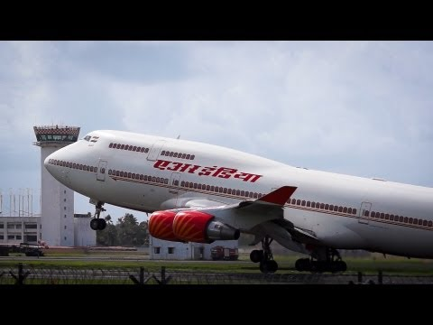 Plane Spotting at Kochi Airport - Part I