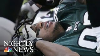 Brain Disease In 110 Out Of 111 NFL Players' Brains, Study Finds | NBC Nightly News