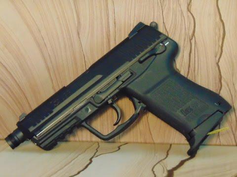 Heckler & Koch HK 45 CT 6mm Airsoft GBB - Review und Schusstest