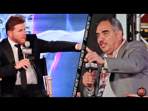 "CANELO VS ABEL SANCHEZ! BOTH HAVE HEATED BACK & FORTH! ""DONT RUN! STAND LIKE A MAN IN THERE!"""