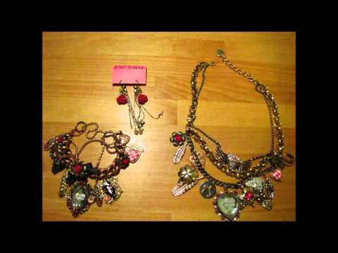Betsey Johnson Jewelry Collection for sale on Ebay!