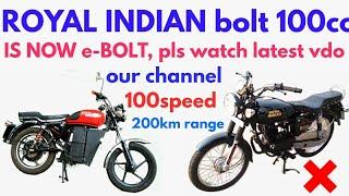 Bolt 100 (bullet 100cc)Royal Indian (a unit of royaludo)