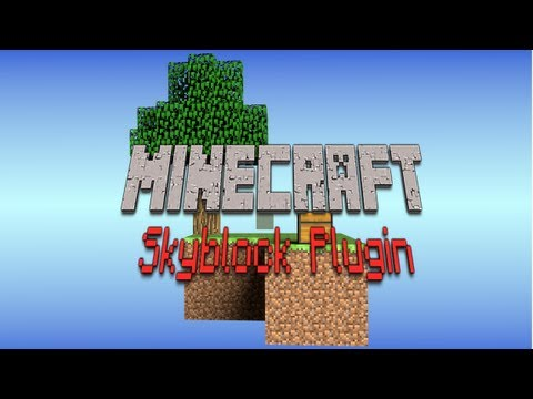 How install Skyblock plugin for your Minecraft Server! 1.5.2/1.6.2