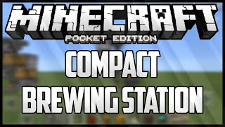 COMPACT BREWING STATION - MINECRAFT PE - AUTOMATIC