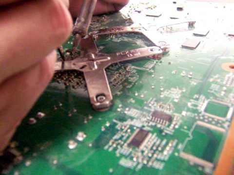Reset Glitch Hack Tutorial Part 3 : Fat 360 ( Wiring the Mainboard)