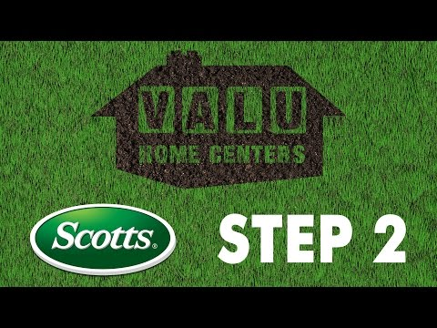 Scotts 4 Step Lawn Care – Step 2: Turf Builder Weed & Feed