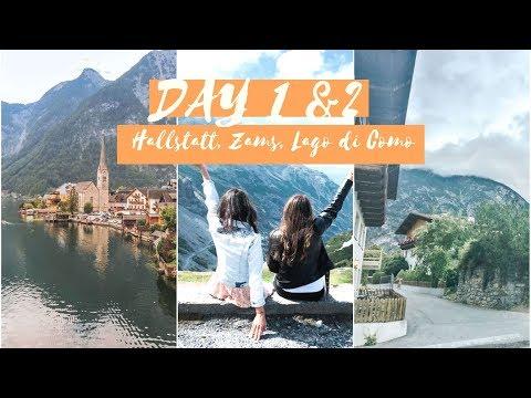 Road trip day 1& 2! /Hallstatt, Zams, Passo dello Stelvio, Lago di Como