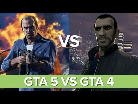 9 Ways GTA V Beats the Pants off GTA IV