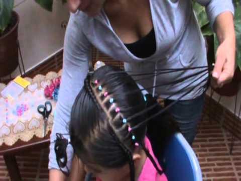 El arpa peinados para niñas paso a paso