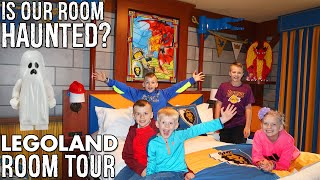 Haunted Castle Hotel Room!