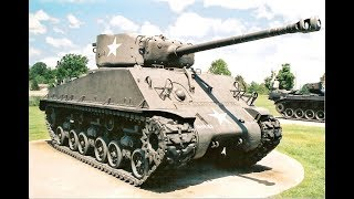 Катаю на американском среднем танке M4A3E8 Sherman.