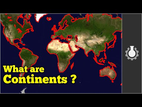 Thumbnail of video What are Continents?