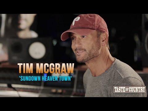 Tim McGraw - The 'Sundown Heaven Town' Interview Part 1