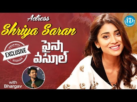 Paisa Vasool Actress Shriya Saran Exclusive Interview || Talking Movies With iDream #489