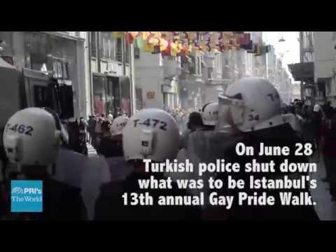Turkish police shut down Gay Pride Walk in Istanbul | The World