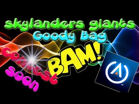 E3 2013 - Skylanders Giants Goody Bag from PowerA - (Electronic Entertainment Expo) E3M13