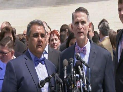 Plaintiffs Say Why They Want Gay Marriage