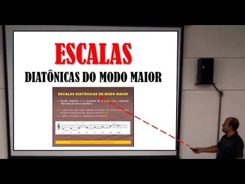 Escalas Diatônicas Modo Maior - CCB Teoria Musical