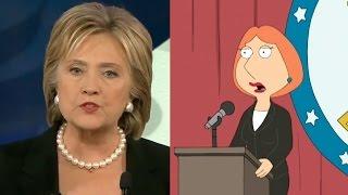 Hillary Clinton 9/11 Family Guy Prophetic Episode